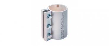 obejmy rurowe wysokociśnieniowe aluminiowe DVK-HD
