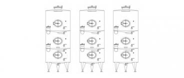Stalowe zbiorniki segmentowe